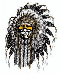 The politically correct AHS logo was adopted in conjunction with the Arapaho Indian tribe after we all graduated.