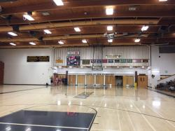 Old gym - new floor