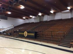 Old gym - 50 year old bleachers